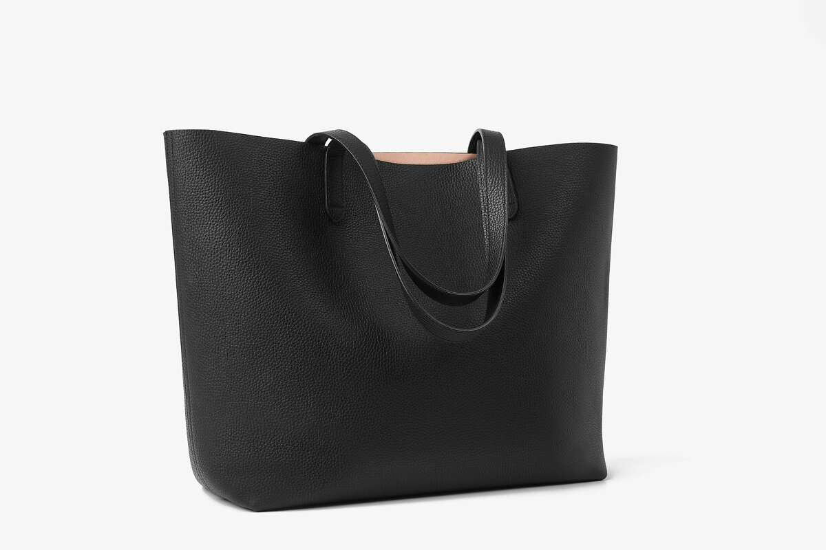 San Francisco brand Cuyana's classic leather tote and a classic structured leather tote.