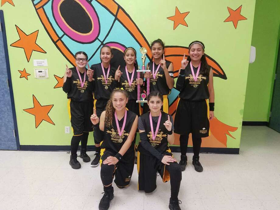 The Laredo Storm won first place in the high school division at Mission Girls and Coys Club on Oct. 15. Photo: Courtesy Photo