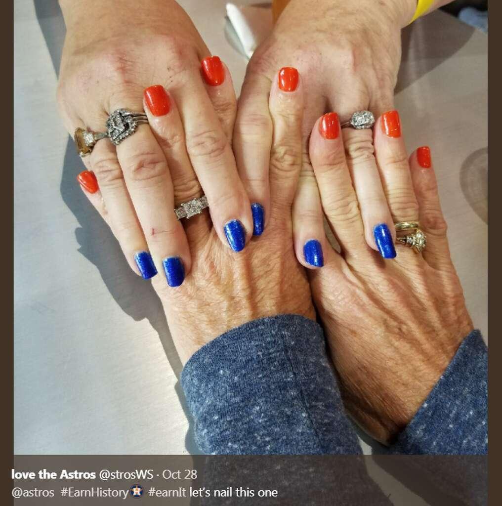 50 best orange and blue nails images on blue nails, best 25 orange ...
