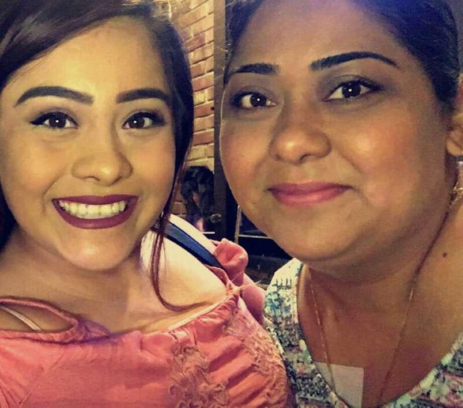 Xiomara Santos (left,) with her mother, Veronica Ruiz. Photo: Courtesy, Xiomara Santos