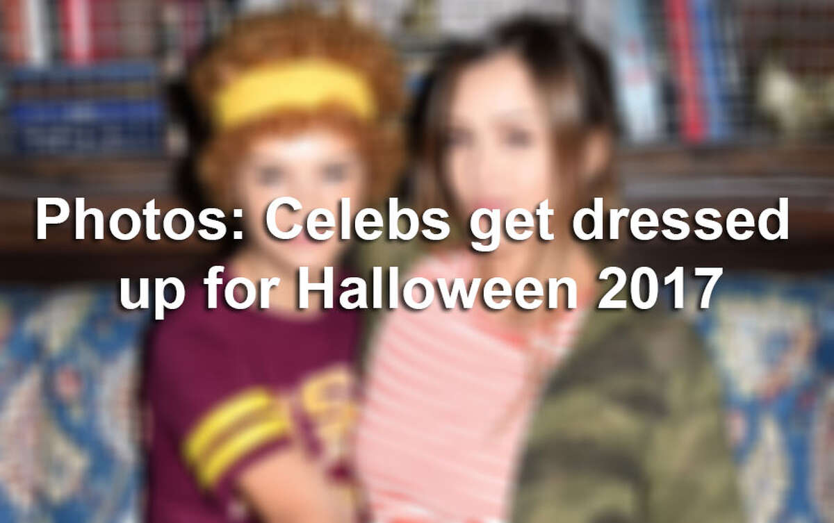 Models, actors, socialites and musicians show off their costumes for Halloween 2017.