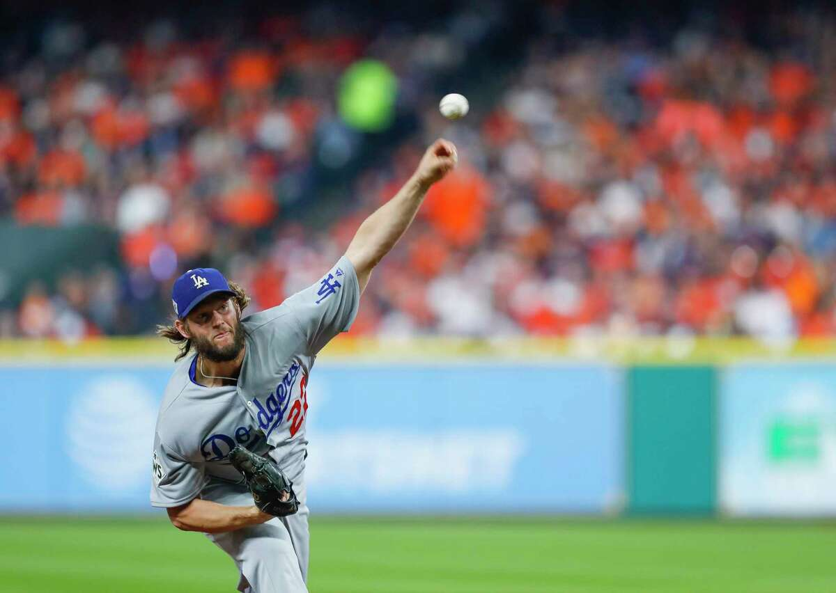 SECOND INNING - DODGERS 3, ASTROS 0 A 13-pitch, 1, 2, 3 inning for Keuchel. Of course, it was about the same for Clayton Kershaw.