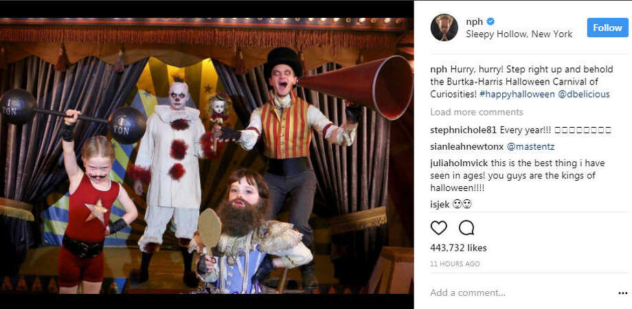 a17c560de Neil Patrick Harris and David Burtka go all out every year with their kids  when it