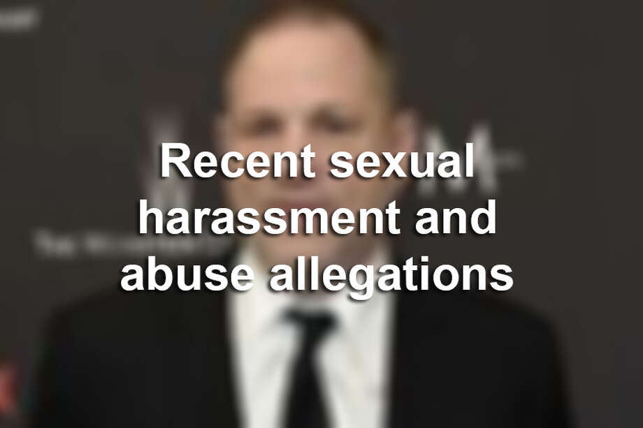 Recent sexual harassment and abuse allegations Photo: AP