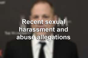 Recent sexual harassment and abuse allegations