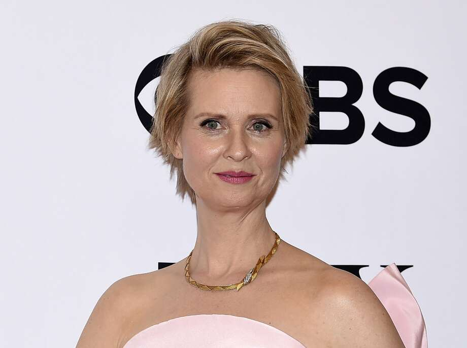 FILE - In this June 11, 2017 file photo, Cynthia Nixon poses in the press room at the 71st annual Tony Awards in New York. (Photo by Evan Agostini/Invision/AP, File) Photo: Evan Agostini, Associated Press