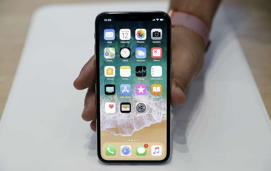 FILE - In this Tuesday, Sept. 12, 2017, file photo, the new iPhone X is displayed in the showroom after the new product announcement at the Steve Jobs Theater on the new Apple campus in Cupertino, Calif.  (AP Photo/Marcio Jose Sanchez, File) Photo: Marcio Jose Sanchez, Associated Press