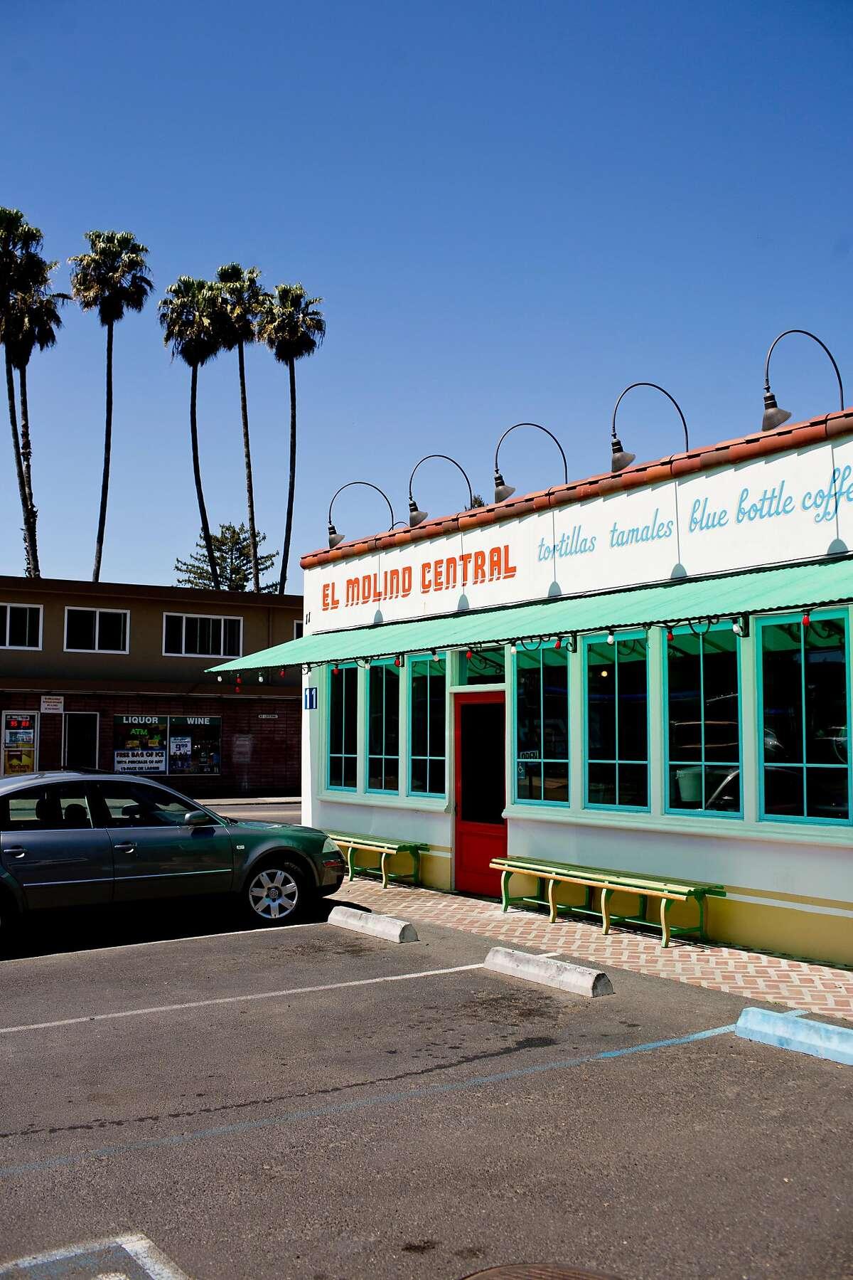 Outside El Molino Central in Boyes Hot Springs, Calif., Thursday, April 18, 2013.