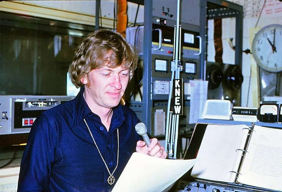 Ex-KNBR programmer Ron Reynolds is shown in 1974. Photo: Courtesy Ron Reynolds