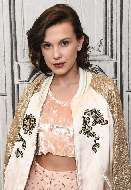 Actress Millie Bobby Brown attends the Build Series to discuss her show 'Stranger Things' at Build Studio on October 31, 2017 in New York City. Photo: Daniel Zuchnik/WireImage