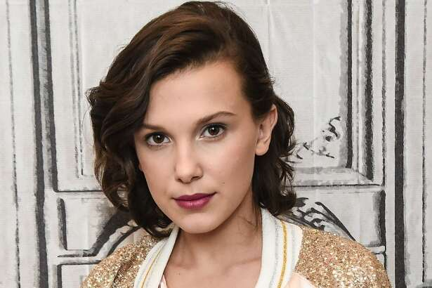 Actress Millie Bobby Brown attends the Build Series to discuss her show 'Stranger Things' at Build Studio on October 31, 2017 in New York City.