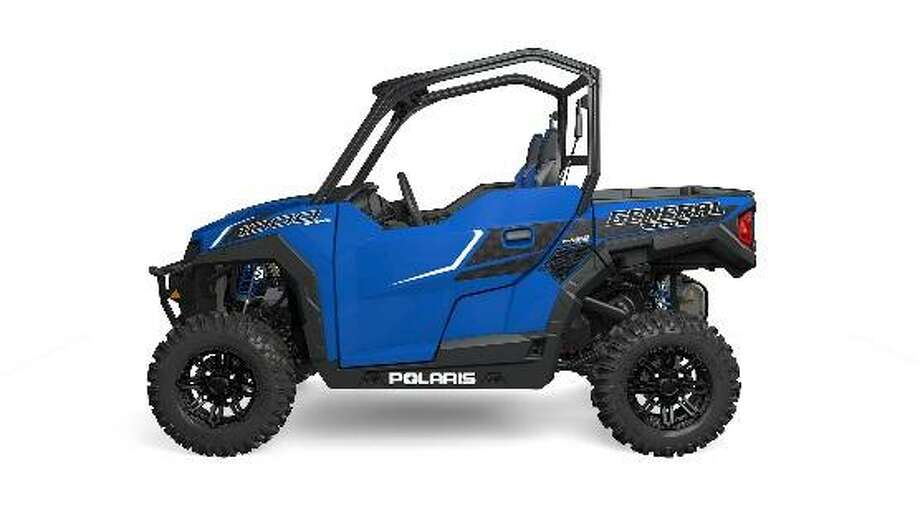 Polaris General is recalling about 19,000 side-by-side recreational off-highway vehicles because the steering wheel shaft can shift and detach while in use, resulting in a loss of control and crash hazard. Photos courtesy of the Consumer Product Safety Commission. Photo: Contributed Photos