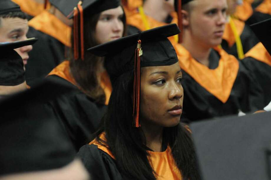 Ridgefield High School held it's Ninety-Fourth Annual Commencement ceremony on Friday June 25, 2010 at Western Connecticut State Universities O'Neill Center. Photo: Lisa Weir / The News-Times Freelance