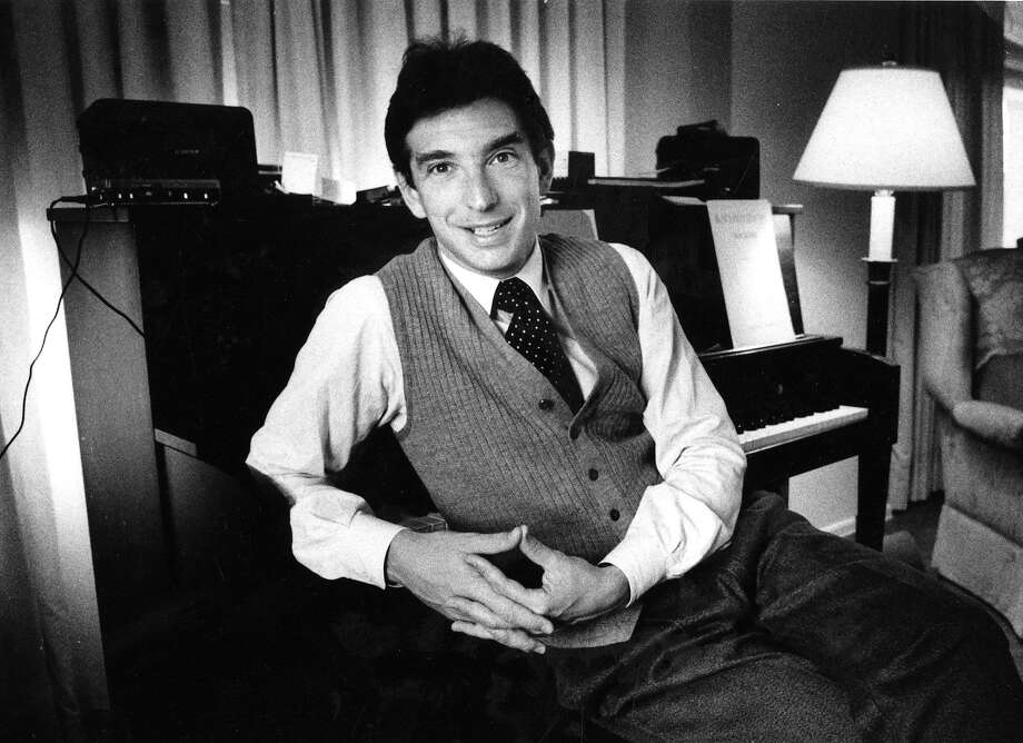 Michael Tilson Thomas in 1985, 10 years before he became the San Francisco Symphony's music director. Photo: Eric Luse, San Francisco Chronicle