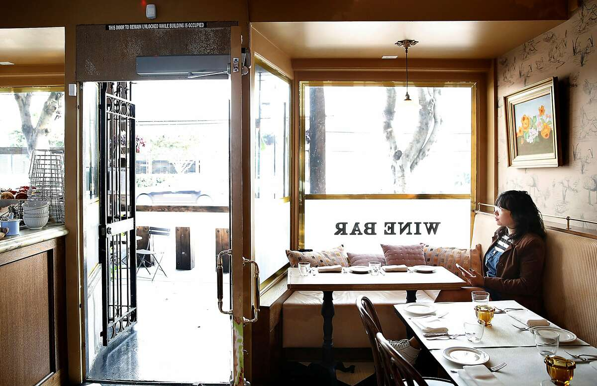 View of Petit Marlowe, a wine bar in SoMa on Friday, October 13, 2017, in San Francisco, Calif.