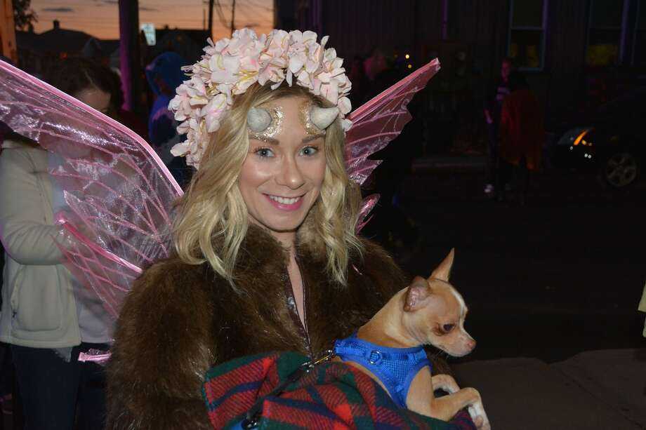 The Walnut Beach Witch Halloween Parade took place on October 31, 2017. Halloween revelers showed off their costumes and enjoyed free ice cream. Were you SEEN? Photo: Vic Eng / Hearst Connecticut Media Group