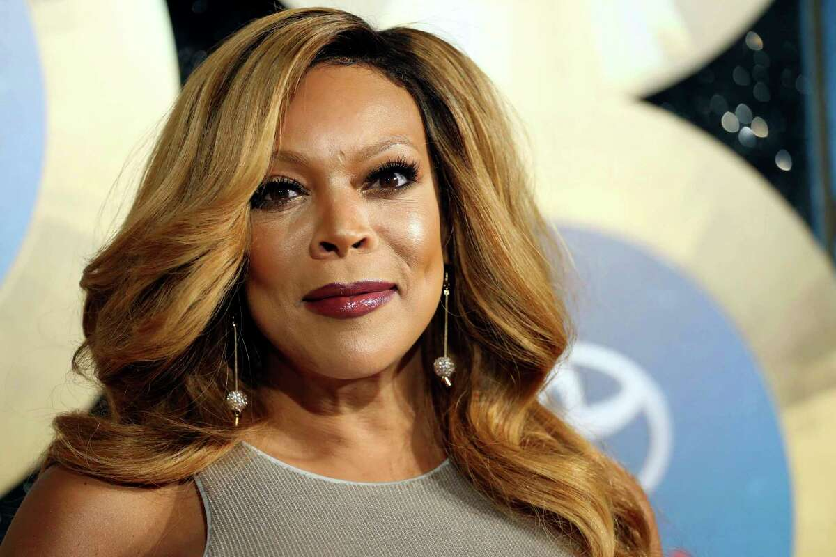 FILE - In this Nov. 7, 2014, file photo, TV talk show host Wendy Williams arrives during the 2014 Soul Train Awards in Las Vegas. Williams gave viewers a scare Tuesday morning when she passed out on-the-air during a broadcast of her syndicated chat show. as introducing a segment while wearing a Statue of Liberty Halloween costume when her speech suddenly became slurred. She began shaking and seconds later collapsed on the stage. Stagehands rushed in to help her while the crowd screamed. (Photo by Omar Vega/Invision/AP, File) ORG XMIT: NYET200