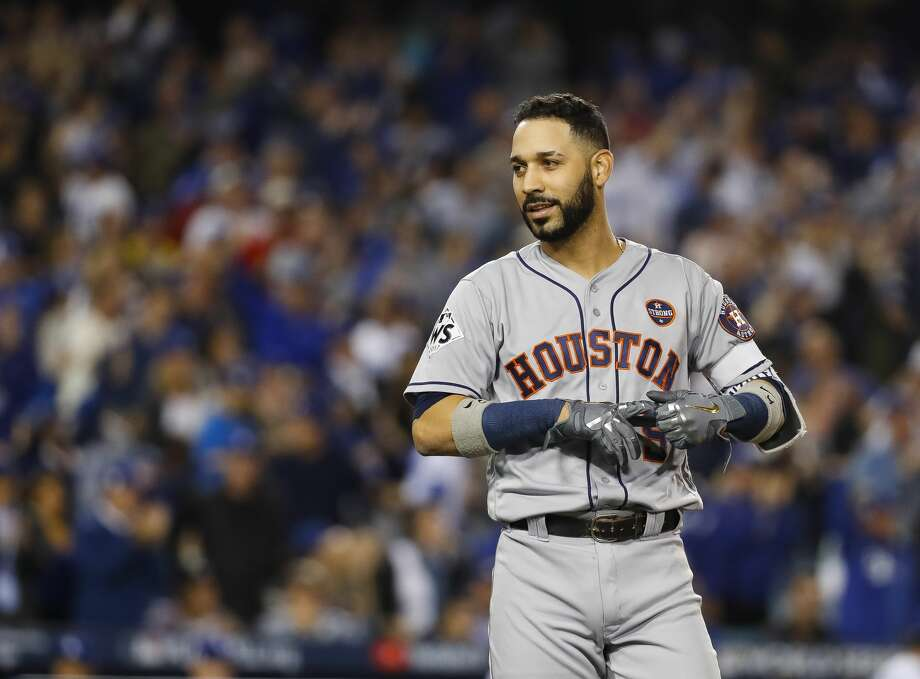 PHOTOS: Other statements issued by members of the 2017 Astros team Marwin Gonzalez was a key part of the Astros' 2017 World Series team. Gonzalez signed a two-year, $21 million contract with the Minnesota Twins after the 2018 season. Browse through the photos above for a look at other statements members of the 2017 Astros team have made about electronic sign-stealing ... Photo: Karen Warren/Houston Chronicle