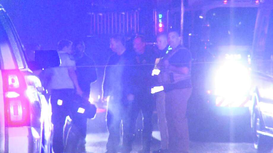 According to a lieutenant with the Bexar County Sheriff's Department, gunshots were reported in the area of the 10000 block of Fossil Peak around 10 p.m. Oct. 31, and deputies arrived to the home about 40 minutes later. Photo: Caleb Downs