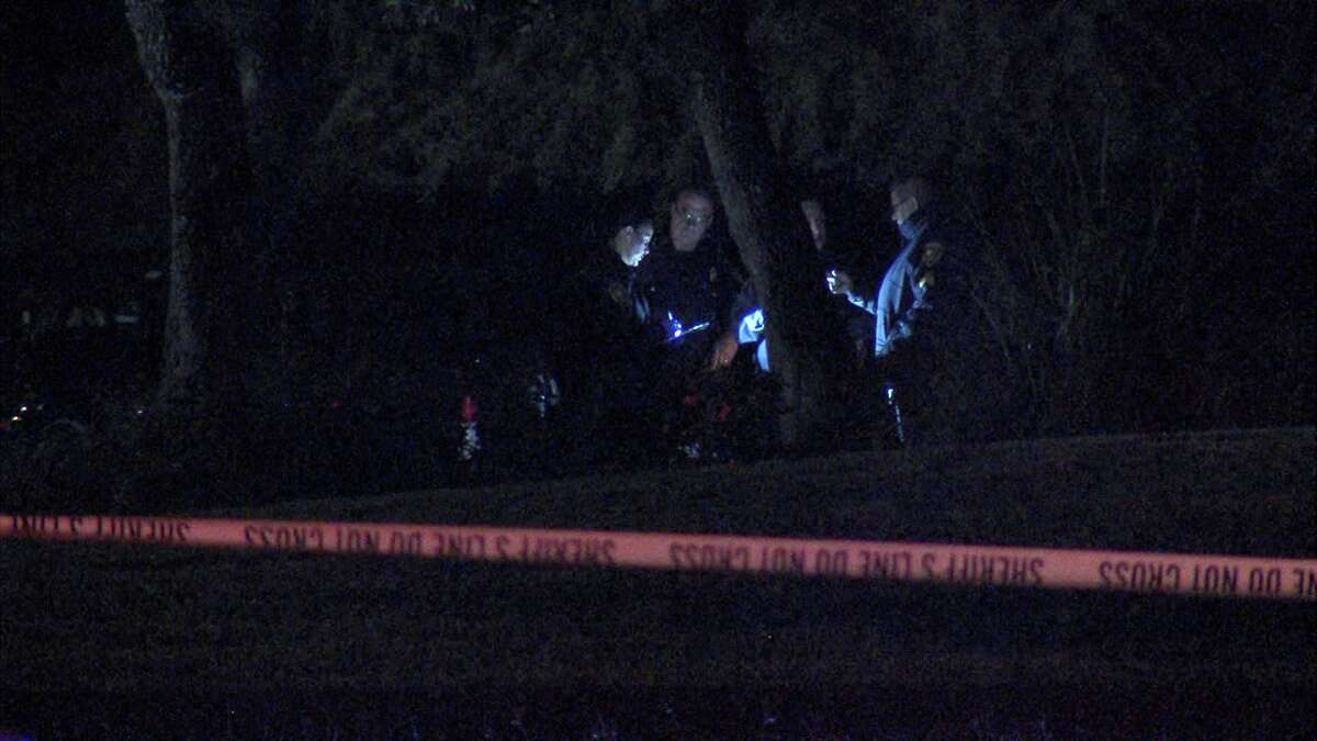 According to a lieutenant with the Bexar County Sheriff's Department, gunshots were reported in the area of the 10000 block of Fossil Peak around 10 p.m. Oct. 31, and deputies arrived to the home about 40 minutes later.