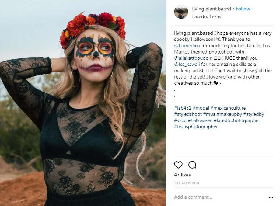 Laredoans took to social media to show off their incredible costumes for Halloween. Photo: Instagram