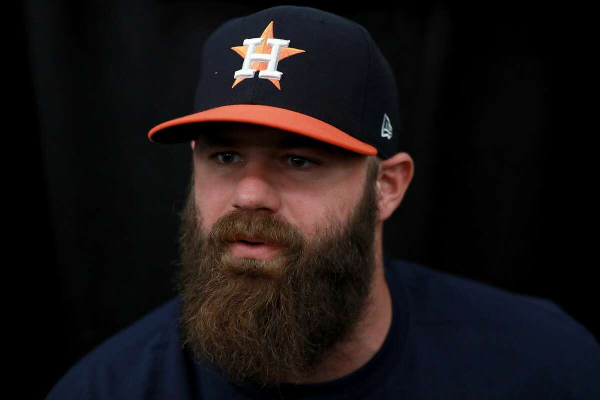 PHOTOS: Before and after photos of Astros, Dodgers players with and without facial hair  Is there any surprise that it wasn't until they stopped shaving that some of the guys on the Astros and the Dodgers  finally helped bring their team to the World Series? Beards really do make the ball player, any major dude will tell you.  See how these players have evolved their looks over the years for the better and furrier...