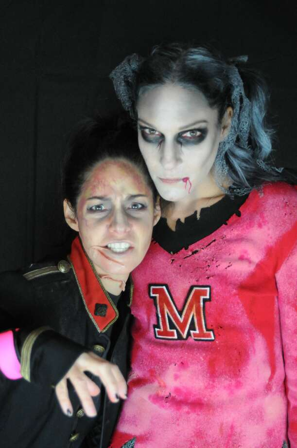 "For the second year, women in Fairfield dressed as zombies performed a  choreographed dance to Michael Jackson's Thriller on Halloween night  2017. The MOMbies, as they are called, raised nearly $3,000 online to  benefit cancer research. ""We dedicate this  project to a dear friend and fellow MOMbie, as well as to all of the  special people in each of our lives,"" their CrowdRise.com page states.  Were you SEEN as a MOMbie? Photo: Stacey Scruggs"