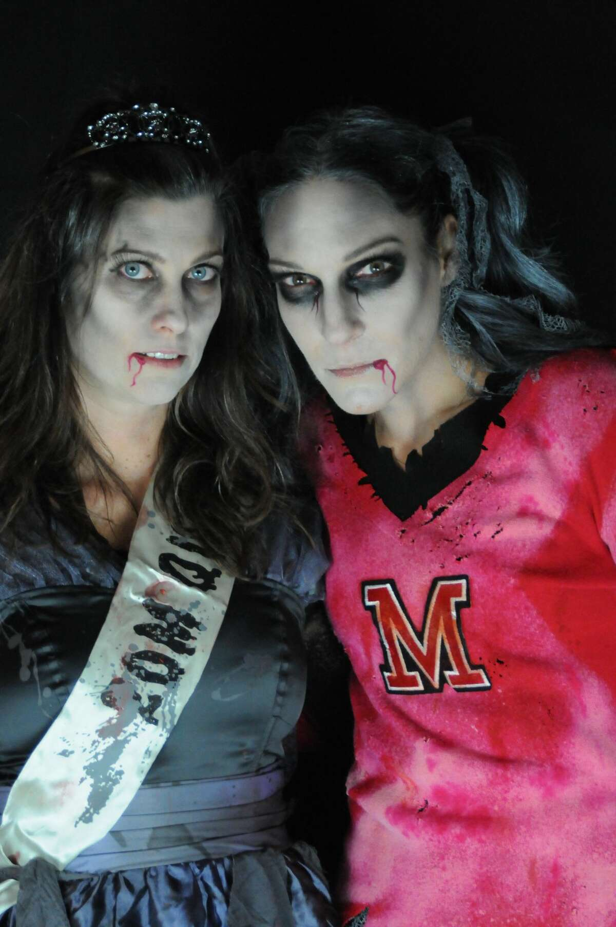 For the second year, women in Fairfield dressed as zombies performed a choreographed dance to Michael Jackson's Thriller on Halloween night 2017. The MOMbies, as they are called, raised nearly $3,000 online to benefit cancer research.