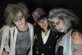 "For the second year, women in Fairfield dressed as zombies performed a choreographed dance to Michael Jackson's Thriller on Halloween night 2017. The MOMbies, as they are called, raised nearly $3,000 online to benefit cancer research. ""We dedicate this project to a dear friend and fellow MOMbie, as well as to all of the special people in each of our lives,"" their CrowdRise.com page states. Were you SEEN as a MOMbie?"
