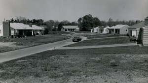 Louise Street in Delmar circa 1955.