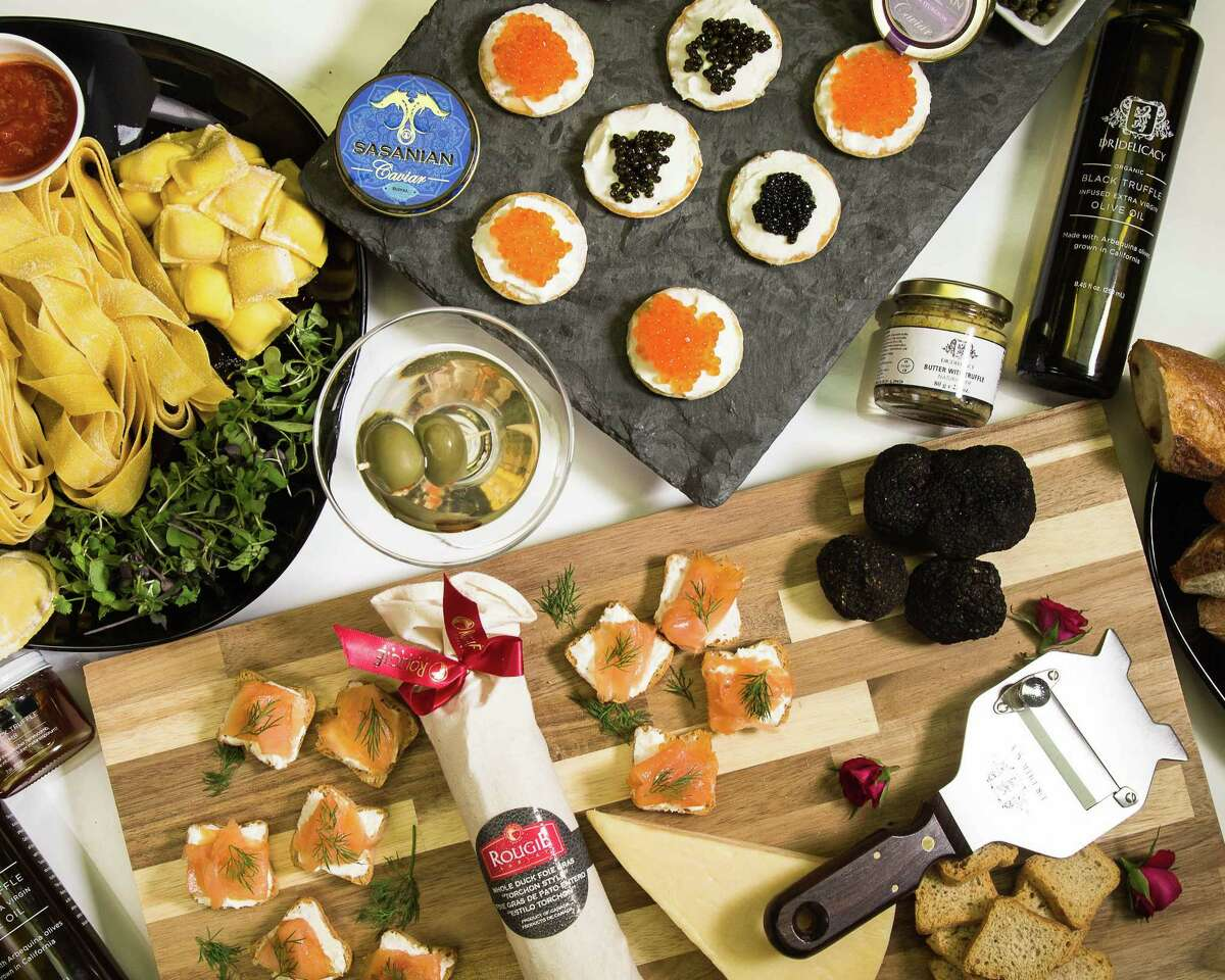 Houston's DR Delicacy, a luxury foods purveyor, has partnered with UberEATS to deliver items such as caviar, truffles and foie gras using the popular app.