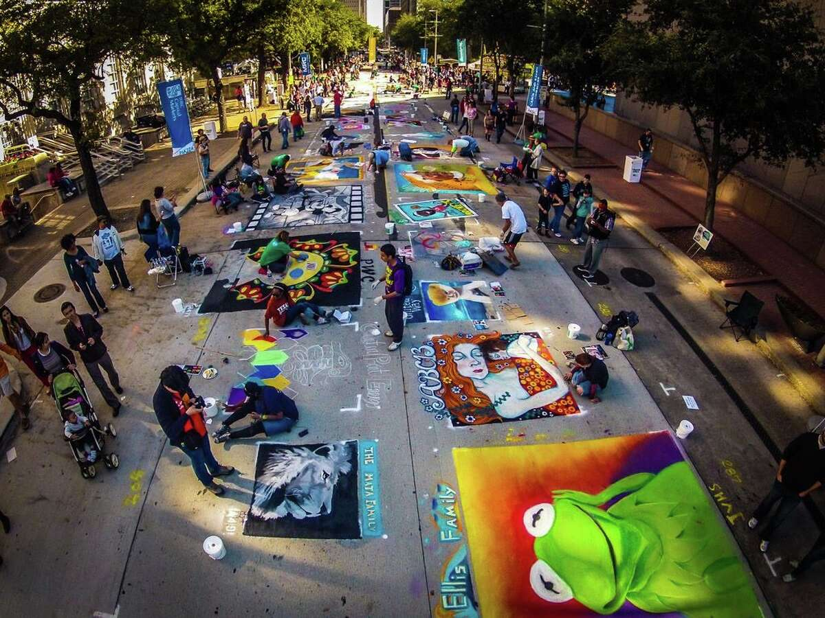 The Center for Hearing and Speech will be producing the annual Houston Via Colori Street Painting Festival.