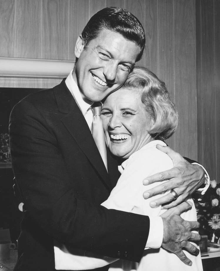 "Rose Marie with Dick Van Dyke, with whom she starred in ""The Dick Van Dyke Show."" Photo: Courtesy Of Rose Marie"