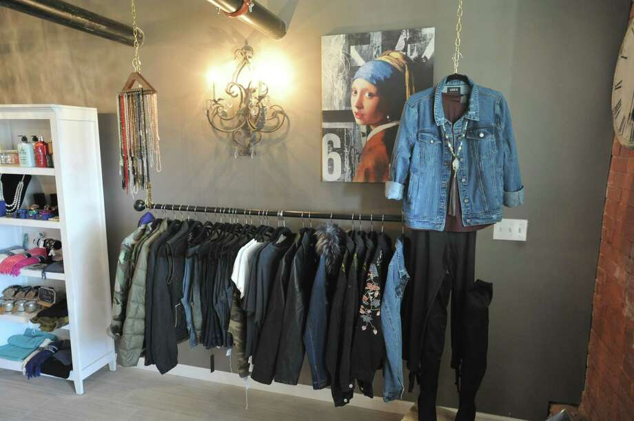 April Matthews recently opened Luna's Boutique in the former jail on West Street in Litchfield. Photo: Ben Lambert / Hearst Connecticut Media