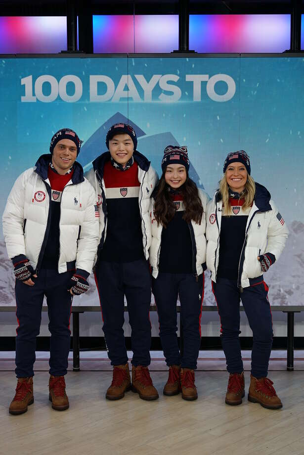 OLYMPICS: Team USA Closing Ceremony Uniforms that Polo Ralph Lauren-sponsored  athletes Gus Kenworthy