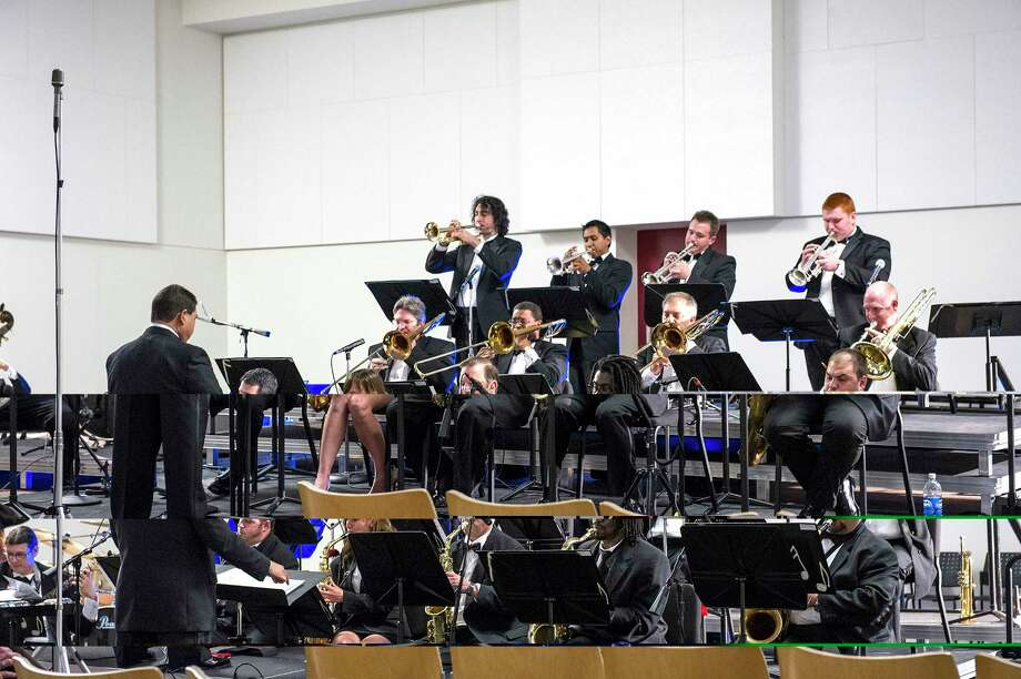 The Kingwood Big Band will perform a free jazz concert with trombonist John Fedchock on Nov. 11 at 7:30 p.m. at Strawbridge United Methodist Church. Photo: Courtesy