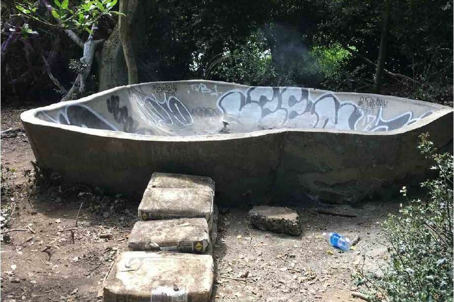 The City of Seattle attached this image of the Duck Island skate park to its lawsuit against the skate shop that coordinated its illegal construction this summer. Photo: Courtesy Seattle City Attorney