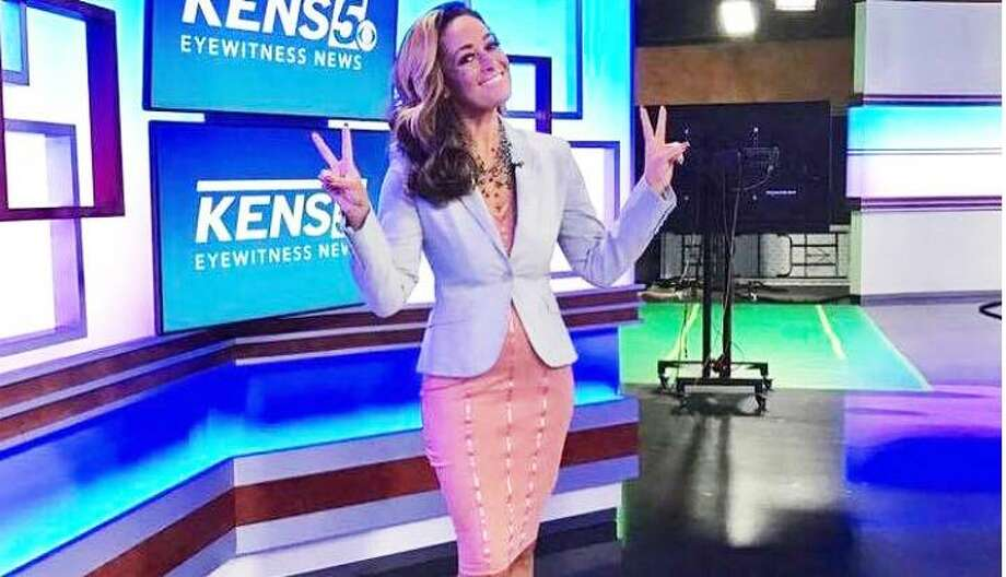 Karen Grace, who has been handling the weekend news on KENS-TV the past 10 years, was surprised to hear that relative newcomer Sharon Ko will co-anchor Saturdays and Sundays through November sweeps. Photo: Courtesy Karen Grace