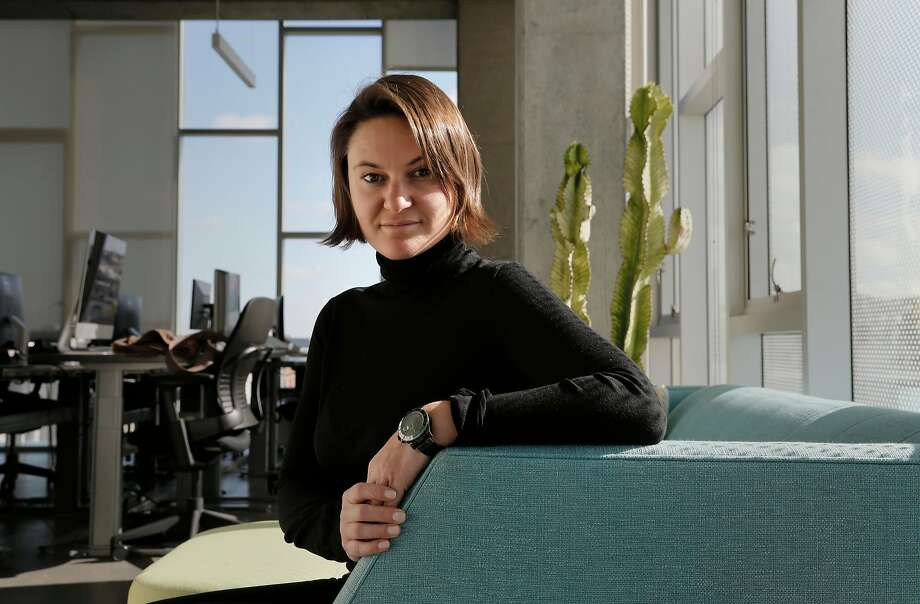 Eugenia Kuyda, CEO of Replika, at her office in San Francisco. Photo: Michael Macor, The Chronicle
