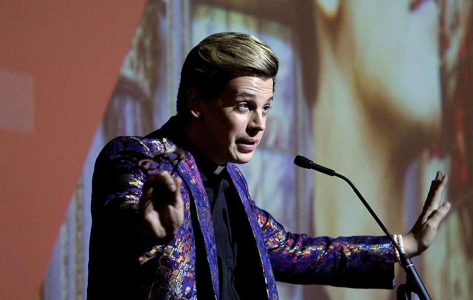 Conservative provocateur Milo Yiannopoulos will be the grand marshal of the parade. Photo: Christina House, TNS