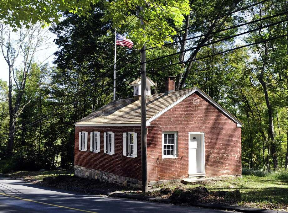 The exterior renovations for Umpawaug Schoolhouse, built in the 1700's have been completed. Photo Friday, Sept. 22, 2017. Photo: Carol Kaliff / Hearst Connecticut Media / The News-Times