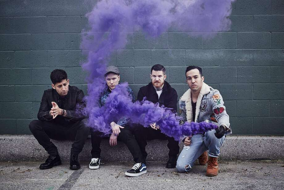 """Fall Out Boy is currently on its """"Mania"""" tour. Photo: Pamela Littky"""