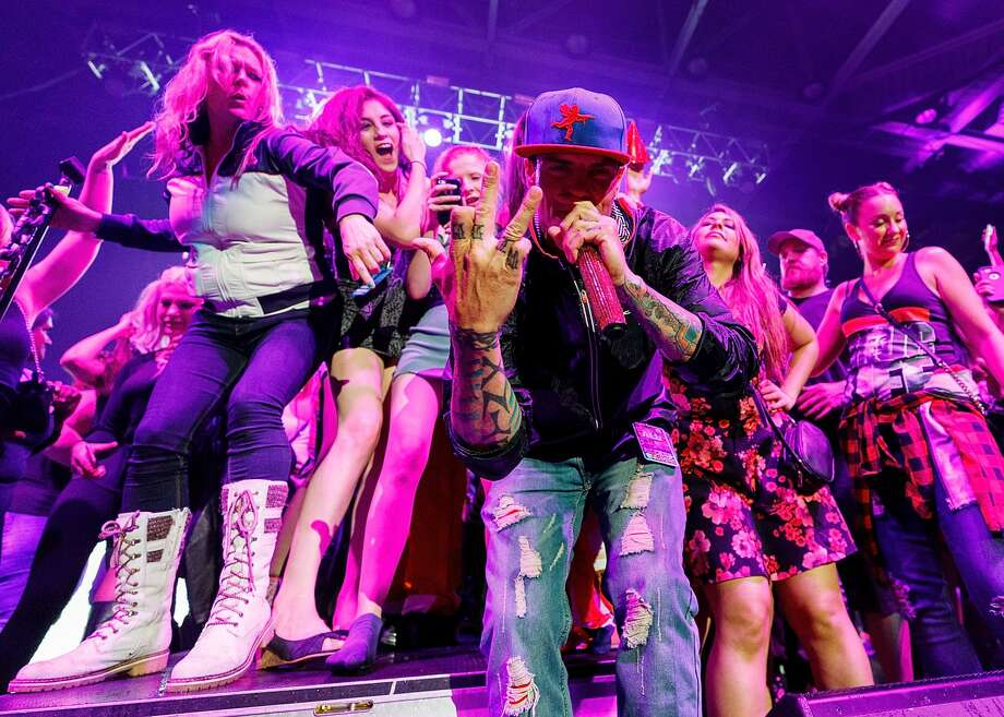 '90s rap fans can see Vanilla Ice for free on Sunday, Nov. 5 at Galveston's Lone Star Rally.PHOTOS: Scenes from the Lone Star Rally and Miss Lone Star Rally pageant in 2016. Photo: Andrew Chin/Getty Images