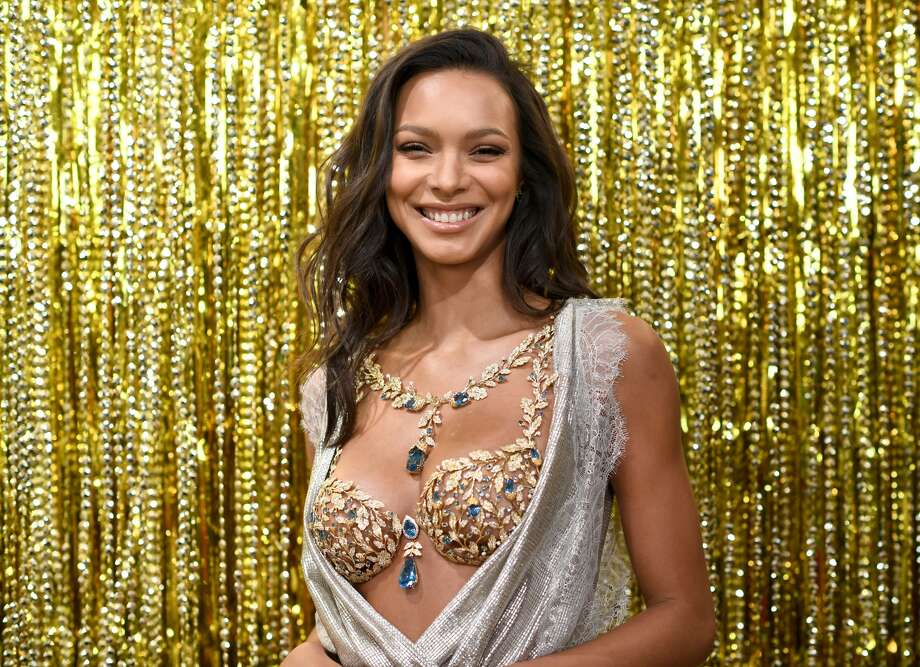 Lais Ribeiro was given the honor of debuting Victoria's Secret 2017 Fantasy Bra, which will be worn at the brand's annual fashion show.>> See Victoria's Secret Fantasy Bra's through the years. Photo: Getty Images