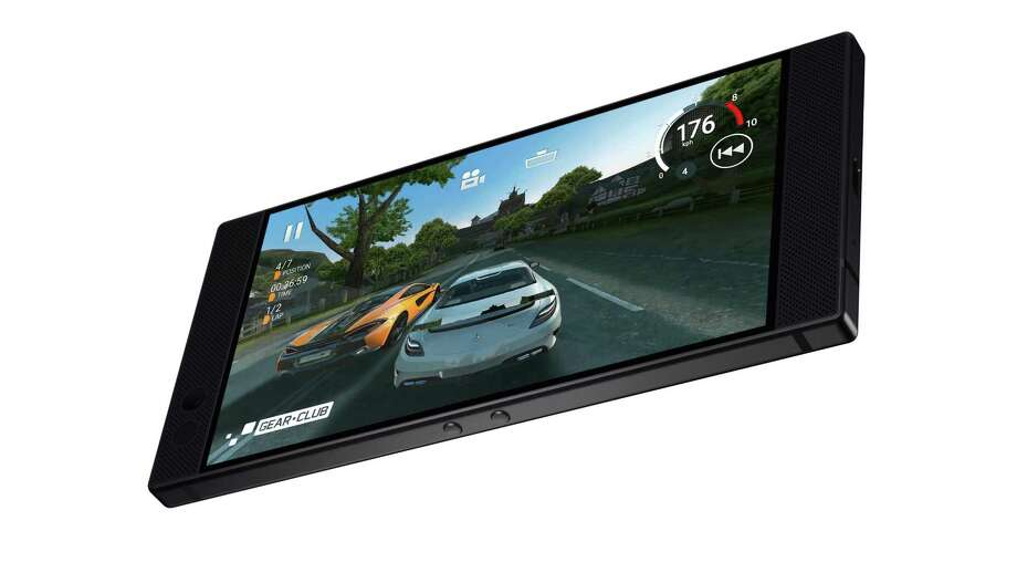 Features in the Razer Phone are designed specifically for game play. Photo: Photo Courtesy Of Razer / Photo Courtesy Of Razer