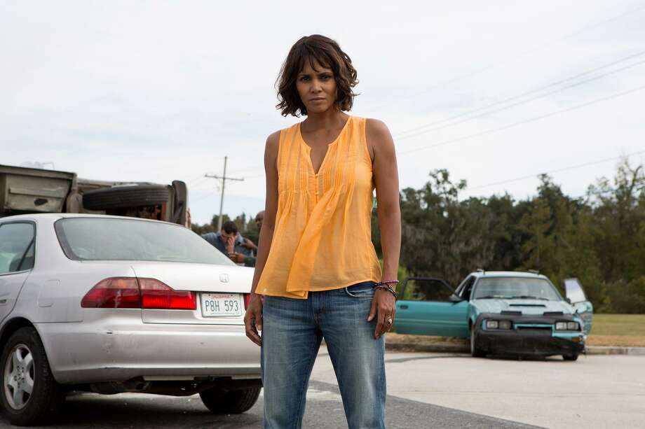 "Halle Berry appears to be stranded in a B-movie in ""Kidnap."" Photo: Peter Iovino /Aviron Pictures-Relativity Studios / AP"