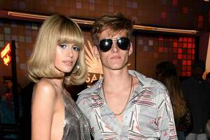 LOS ANGELES, CA - OCTOBER 27:  Kaia Gerber (L) and Presley Gerber attend Casamigos Halloween Party on October 27, 2017 in Los Angeles, California.  (Photo by Michael Kovac/Getty Images for Casamigos Tequila)
