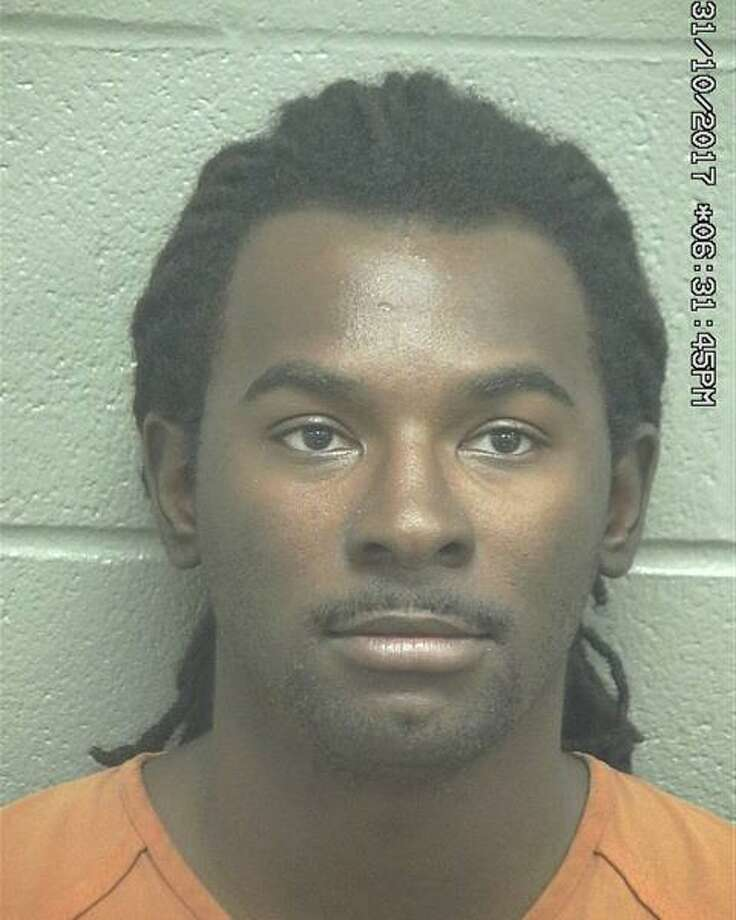 Ravon Clay Bryant, 25, was arrested Oct. 31 after he allegedly sped toward a female while she walked down a road, according to court documents.  Photo: Midland County Sheriff's Office