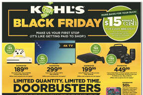 Kohl's has released their 64-page 2017 Black Friday Doorbuster ad. Prices and promotion are valid Thursday, Nov. 23 at 5 p.m. and are subject to change and availability, based on the retailer's determination.