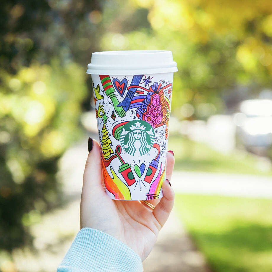 starbucks 2017 holiday cups photo starbucks